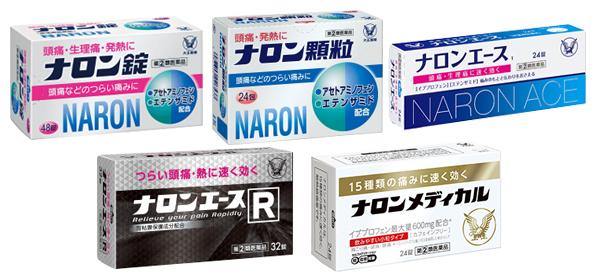 ナロンシリーズ商品イメージ