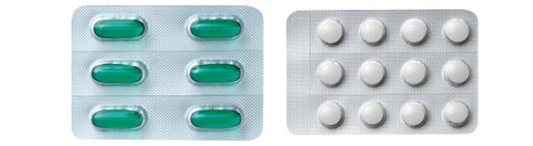 リングルアイビーシリーズのジェルカプセルと錠剤画像